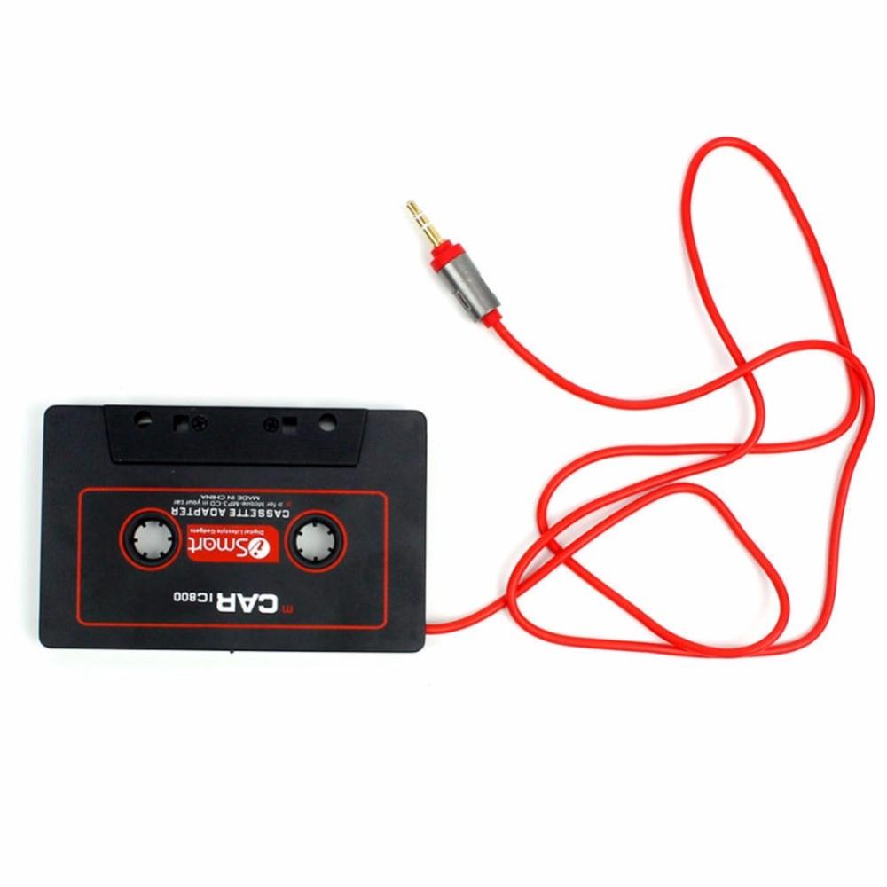 Para reproductor de cinta magnética, receptor de coche, grabadora, cinta de Audio para coche, adaptador de Cassette, 3,5mm Jack AUX Mp3 CD, reproductor de Radio, convertidor