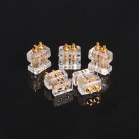 FDBRO 2 pcs 0.78 double pin 1964 socket female diy custom high-end headphone cable accessories pin plug