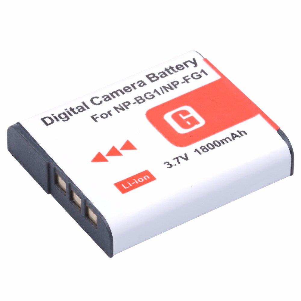 PROBTY 1 pcs 1800 mAh Bateria NPBG1 NP-BG1 NP BG1 para SONY Cyber shot-DSC-H3 DSC-H7 DSC-H9 DSC-H10 DSC-H20 DSC-H50 DSC-H55 DSC-H70
