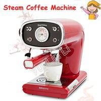High Pressure Steam Milk Coffee Machine Semi-Automatic Italian Coffee Machine 15Bar Vintage Coffee Machine TSK-1163A