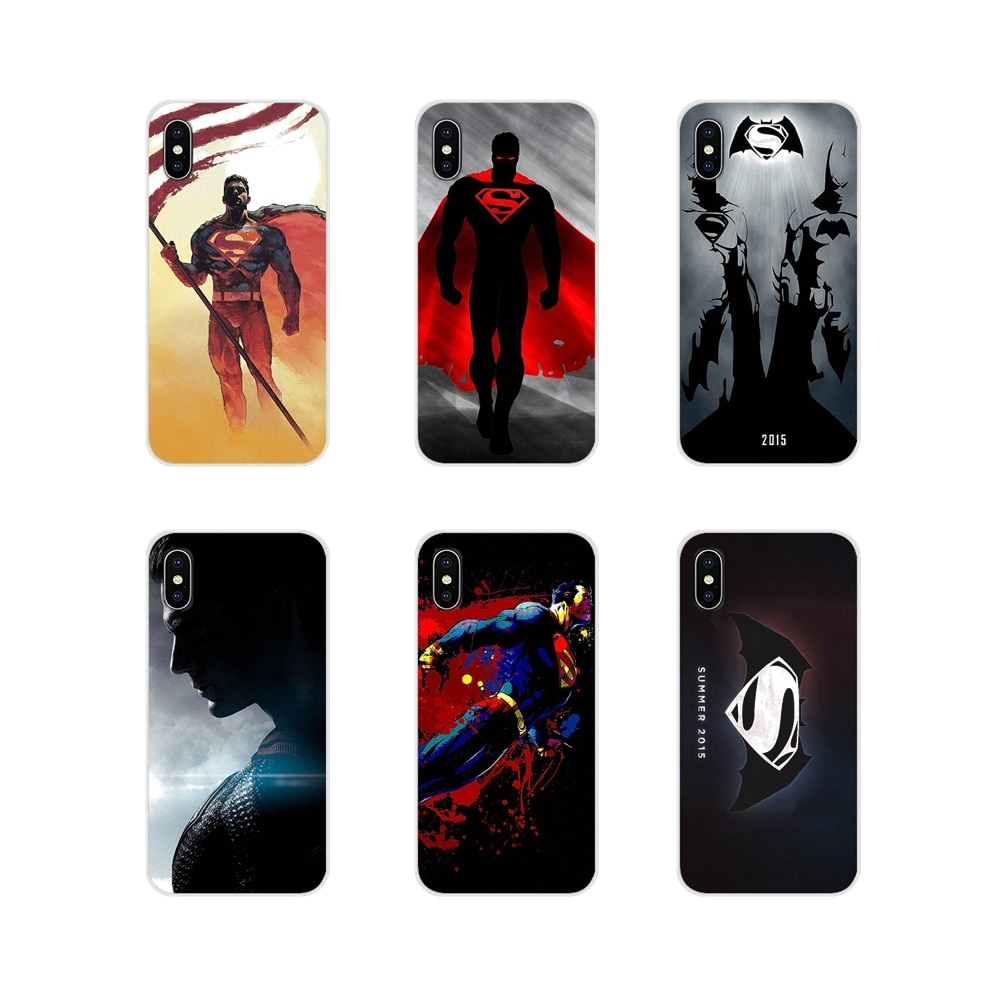 Marvel héroe Superman suave de silicona caso para Huawei G7 G8 P7 P8 P9 P10 P20 P30 Lite Mini Pro P Smart Plus 2017 de 2018 a 2019