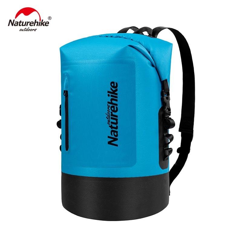 Naturehike 420D TPU Waterproof Bag Outdoor Dry Bag River Trekking Bags Waterproof Backpack NH18F031-S naturehike nh outdoor waterproof bag moisture barrier bag orange black 2l