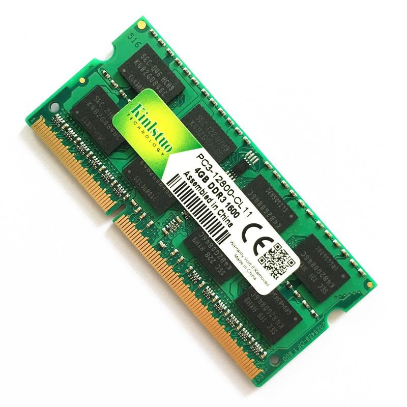 Kinlstuo новый ноутбук высокого качества, 4 ГБ DDR3, SO-DIMM, оригинальный RAMs 1600 МГц, память для ноутбука 204pin, в наличии