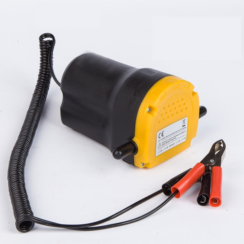 Bomba de aceite de motor de coche 12/24 V aceite eléctrico/Extractor de sumidero de fluido diésel scvenge intercambio de succión de transferencia de combustible bomba de barco motocicleta