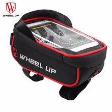 WHEEL UP Rainproof Front Zipper Bike Bag MTB Mountain Cycle Touch Screen Phone Bags Waterproof GPS Cycling Pouch Panniers