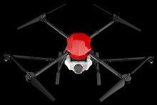 E410 four-axis agricultural spray drone 10L frame 1300mm wheelbase 10L spray system + X8 / E5000 power supply
