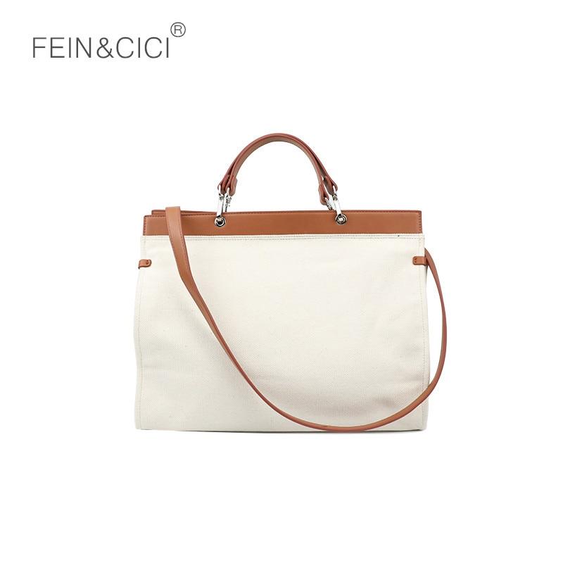 Casual canvas totes handbag large big jumbo capacity should bag women girls beige white shoulder bag 2018 new drop shipping