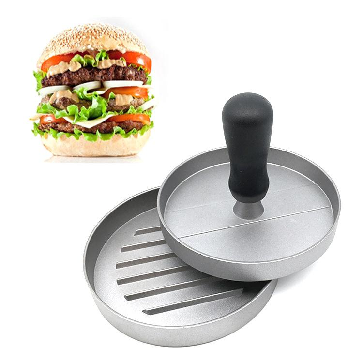 Molde para hamburguesa de acero inoxidable para carne