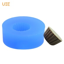 GYL163U moule en résine polymère   Moule à Base de gâteaux en Silicone, 11.3mm Cupcake 3D moule en résine dargile polymère