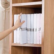 10Pcs/Set Plastic Clothes Folding Board T-shirt Folder Clothespins for Cloth Board Storage Clothe Peg Closet Fast Fold Organizer