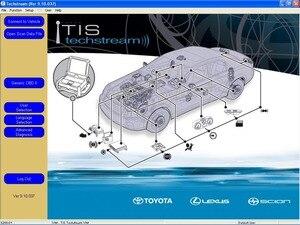 Image 1 - DVD проигрыватель TIS Techstream V15.30.026 (11/2020)+ Crack + Flash для Toyota