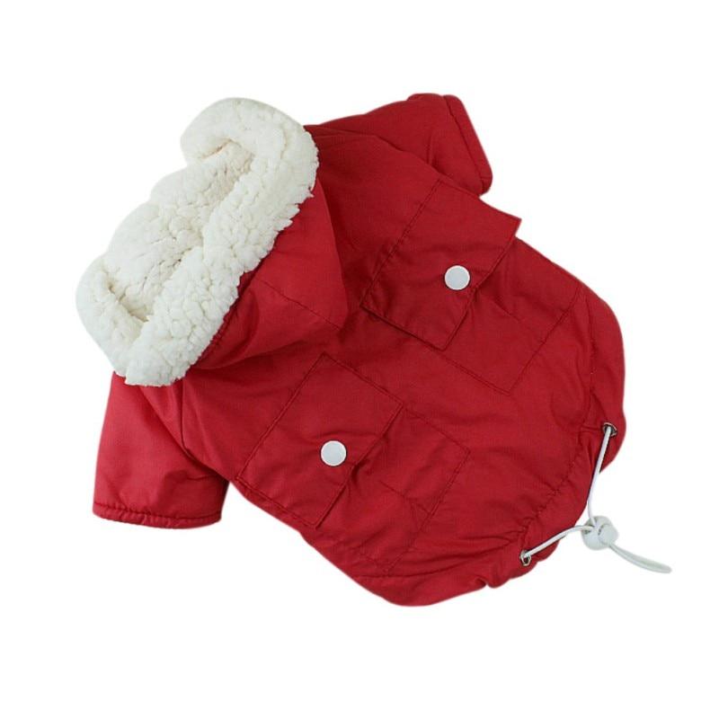 Abrigo de perrito mascota, chaqueta de abrigo para perro, ropa de invierno acolchada para perros pequeños, Chihuahua, Pug, Bulldog francés, ropa Cachorro