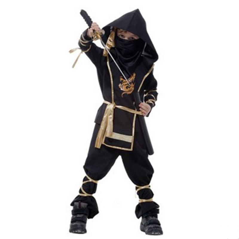 Boys Kids Naruto Ninja anime Cosplay Halloween Costumes Childrens day Carnival Masquerade Stage performance fantasia infantile