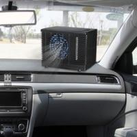 Adjustable 12V 60W Car Air Conditioner Cooler Cooling Fan Water Ice Evaporative Cooler Portable