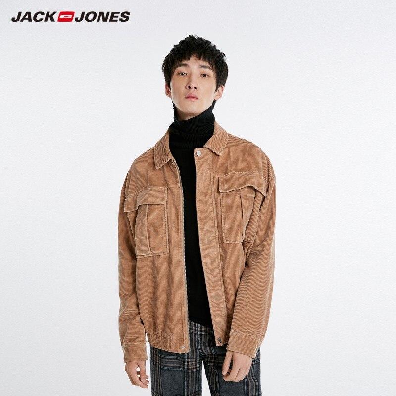 JackJones Men's Lapel Corduroy Jacket Short Coat style Menswear 218321563