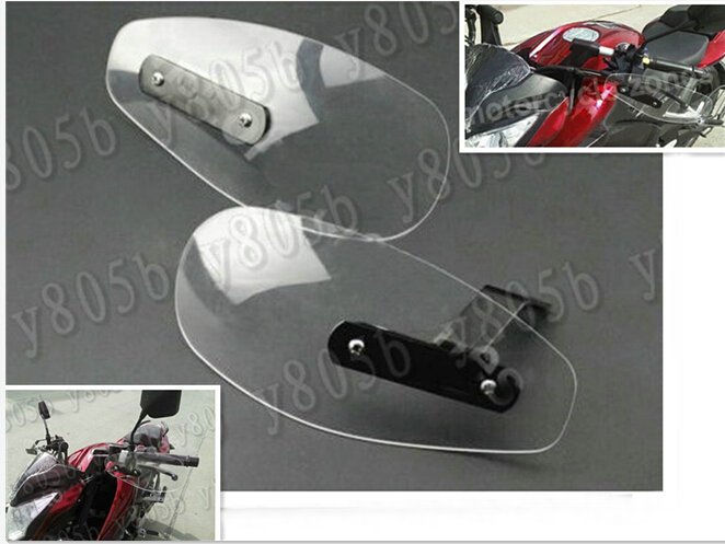 Protector de viento transparente para Yamaha VStar 400 650 1100 1300 Virago Xv 250 535 750 1100 Road Star trituradoras Chopper personalizadas