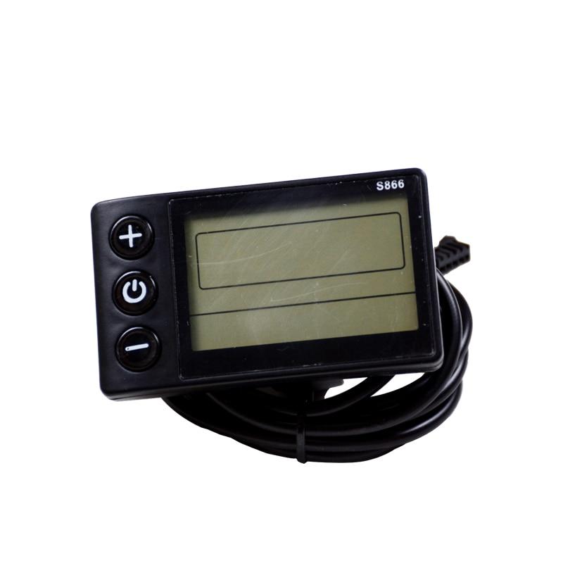 Panel de visualización LCD de 48 V de densidad de agua 886 con manillar de 22,5mm kit de controlador de bicicleta de scooter eléctrico accesorios de bicicleta eléctrica