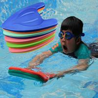 1pc Dual Color EVA Swimming Board Swimming Teaching Float Flutter Board Surfboard for Children (Random Color)