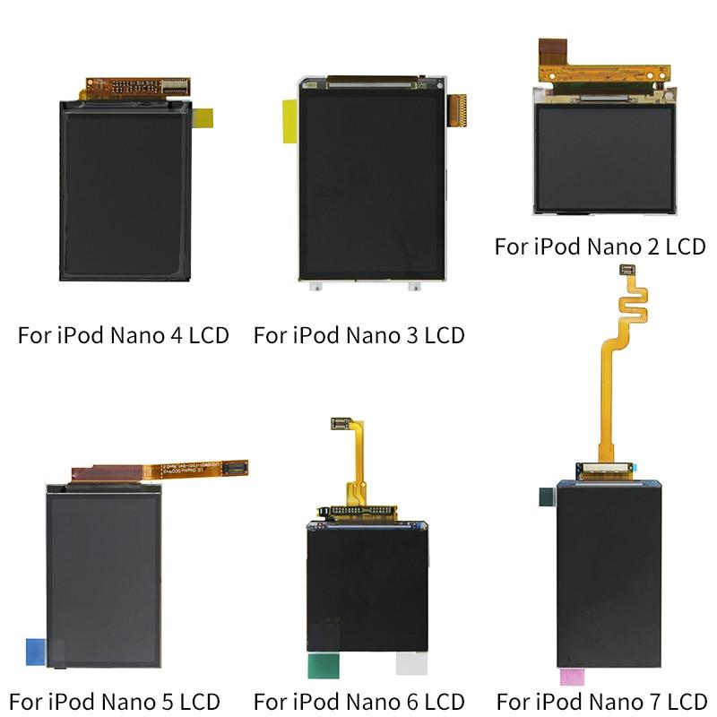 Para iPod Nano 5 6 7 Geração LCD Screen Display Substituição de peças Para O iPod Nano 2 3 4 5 6 7 tela LCD