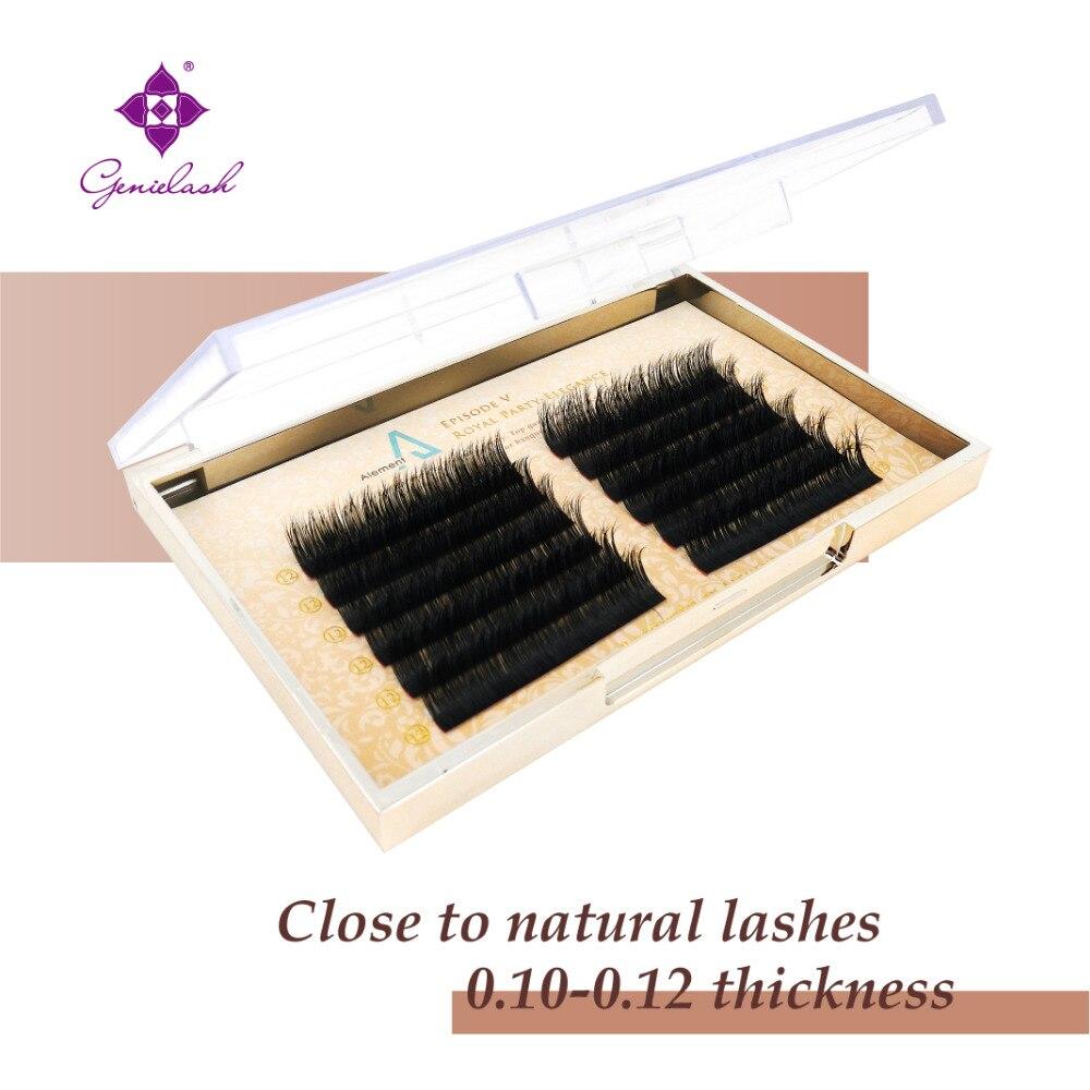 Real mink eyelash extension natural mink lashes no crualty high quality 16lines mink fur individual