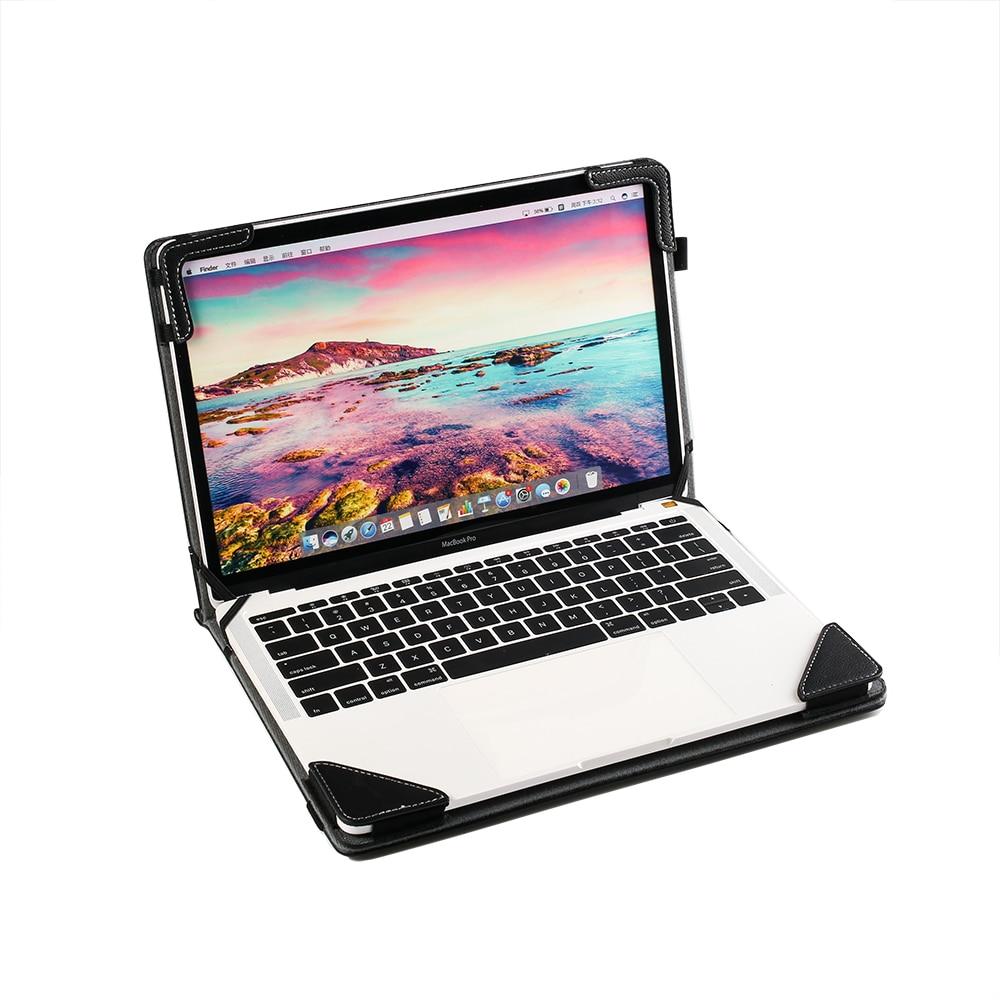 """Funda para ASUS Chromebook Flip C101PA 10,1 """"2 en 1 PC libro T101HA 10,1 cubierta de cuaderno soporte de cuero de imitación piel protectora bolsa"""