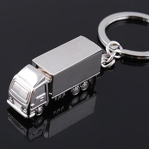Nette Metall Lkw Auto Schlüsselanhänger Schlüsselanhänger Schlüsselbund Kreative Geschenk Schöne Schlüsselring 6MXR