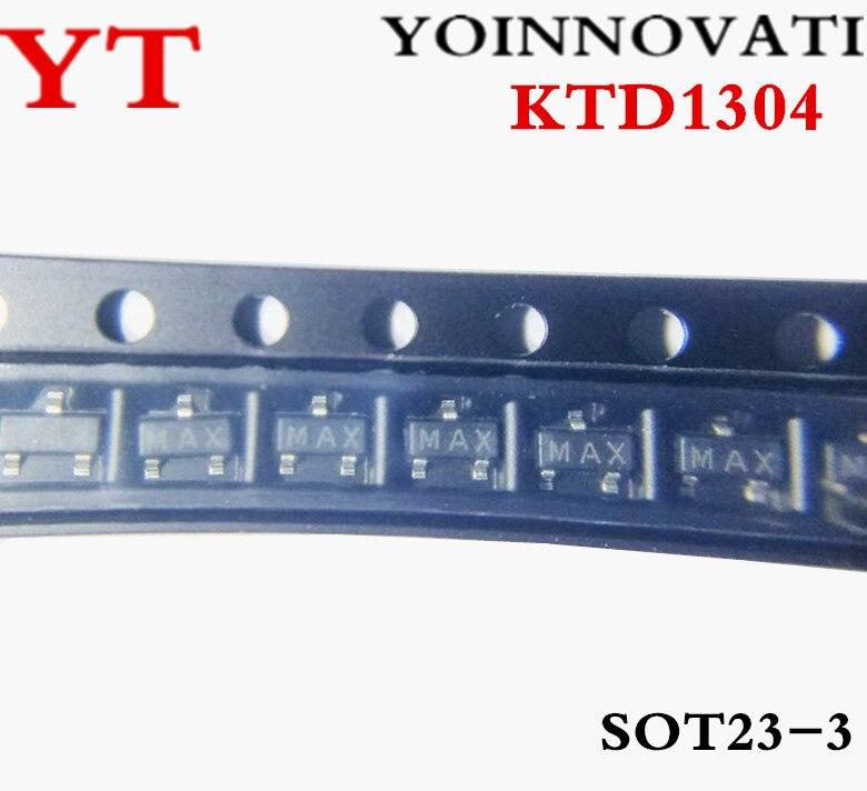 Lote Triode Transistor Melhor Qualidade Ktd1304 Sot-23 3000 Pçs –