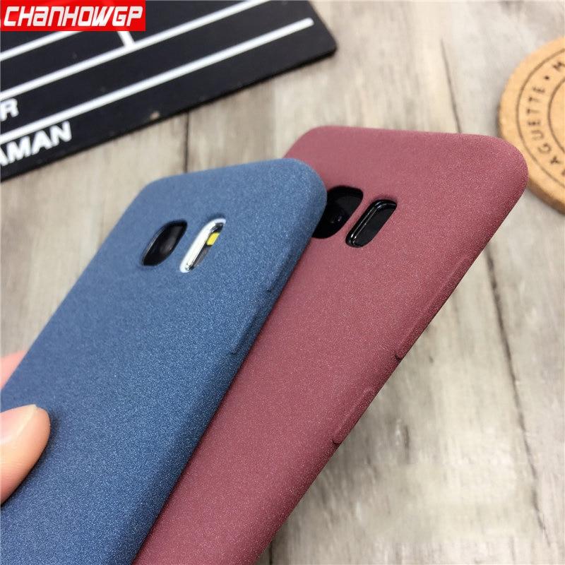 Matte Silicon Case For Samsung Galaxy S9 S8 S7 S6 edge J4 J6 J8 A6 A7 A8 Plus 2018 J3 J5 J7 2016 A3 A5 A7 2017 Protective Coque