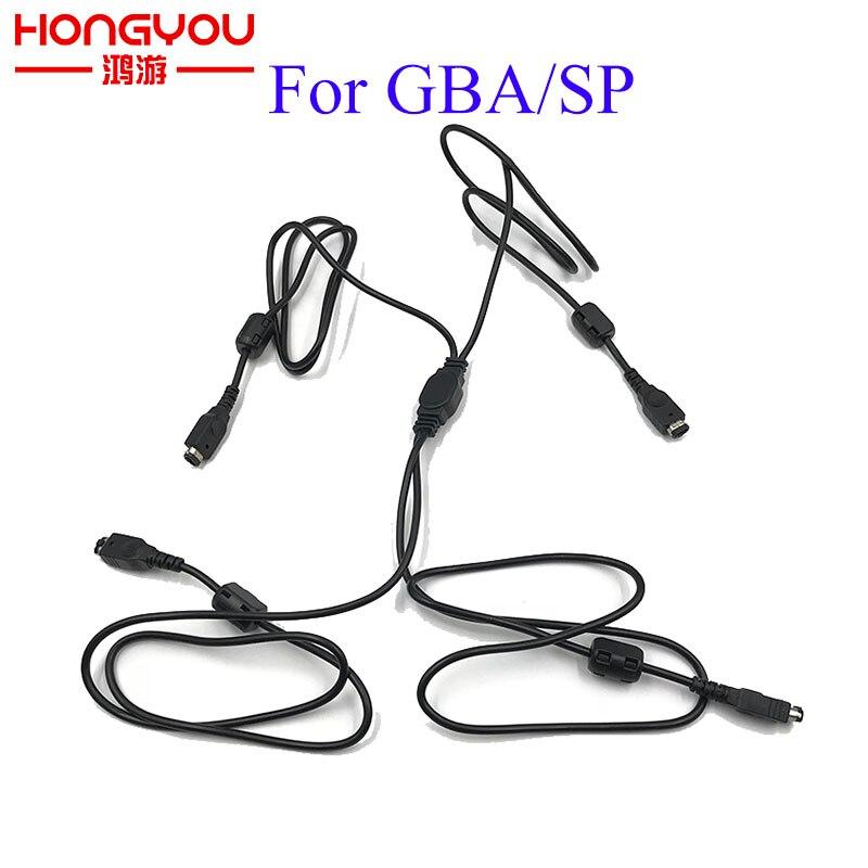 Четыре 4 канальных кабеля для консолей NINTENDO GAME BOY ADVANCE SP GBA