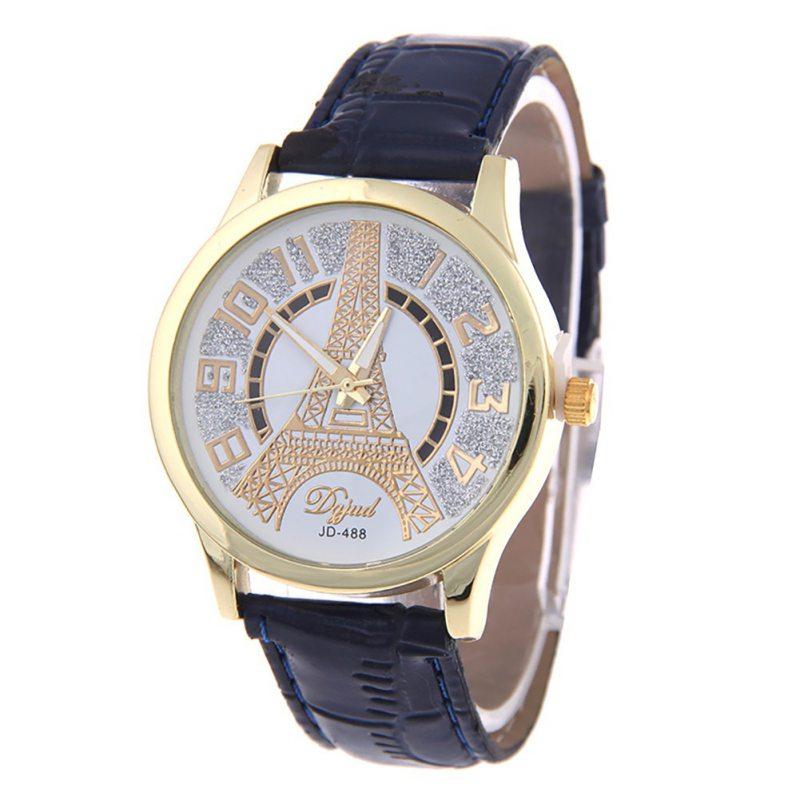 Women Men Leather Watch Fashion Wrist Bracelet Casual Dial Girls Quartz Wristwatches Relogio Feminino