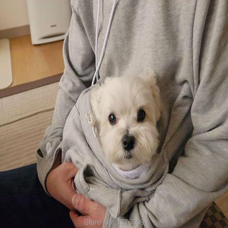 Cat hoodie bluzy z cuddle etui dog pet bluzy dla casual swetry z uszami 10