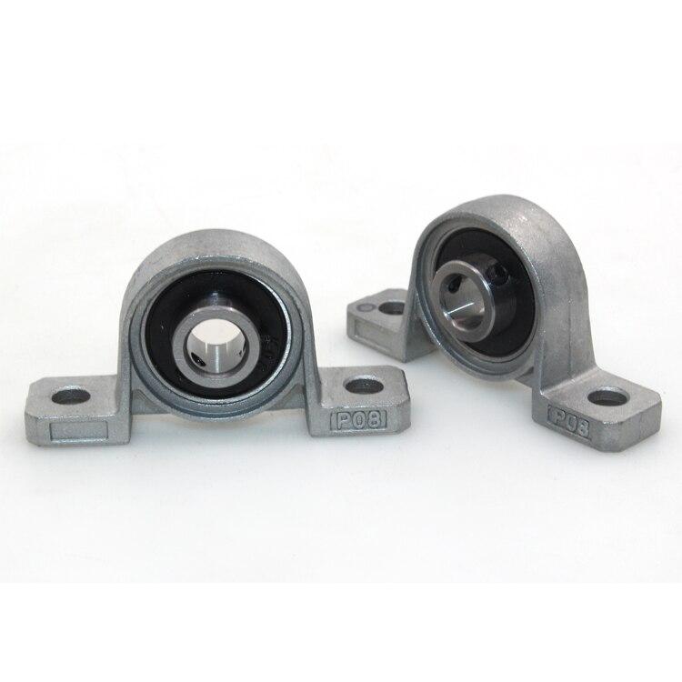 1 шт. TR8 свинцово-винтовой опорный блок KP08 8 мм диаметр металлического Шарикового подшипника из цинкового сплава внутренний шариковый опорный блок для подушки