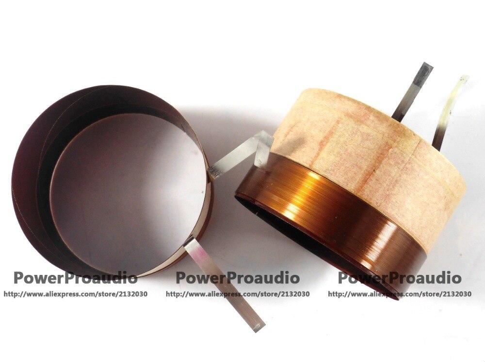 Alta Qualidade 76.2mm bobina de voz para Falante RCF LF15P530-8 8 Ohm