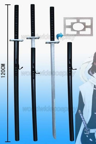 Lejía Kuchiki Byakuya Cosplay espada envío gratis para Halloween y Navidad