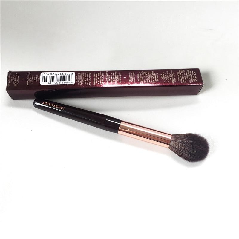 Escultura em pó o pó Pincel de Maquiagem-cabelo Natural Macio Highlighter Cosméticos Escova Ferramentas