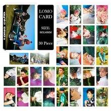 KPOP EXO 4th THE WAR KOKOBOP Album LOMO Cards K-POP nouvelle mode auto-fait papier Photo carte HD Photocard ZP7