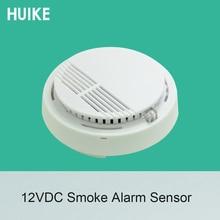 1 Uds. Detector de humo de techo DC12V red para sistema de alarma de incendio Sensor NC sin opciones de señal