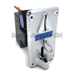 JY-100F Frente a Inserção Comparável Moedeiro CPU/Selector com cromo Plástico máquinas de gabinete do painel frontal para o Jogo de Arcade