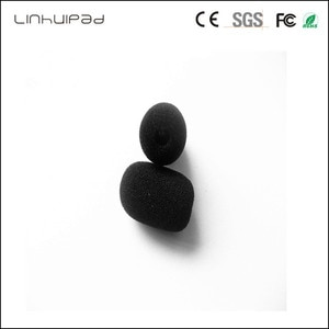 linhuipad 5mm Microphone windscreens windshield foam covers for several manufacturers headsets and lapels including Blueparrot