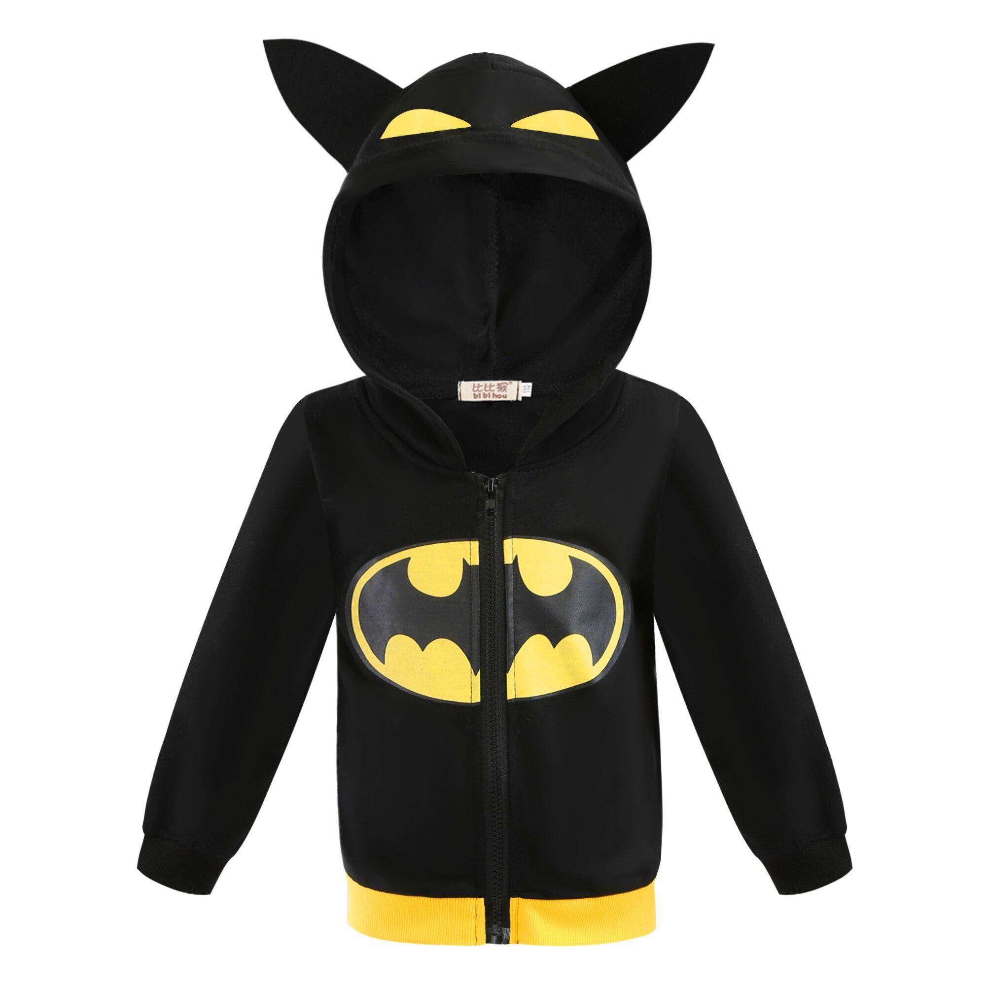 Frühling Herbst Batman mantel Ninja Schildkröte Hoodies kinder Jacke Spider-Man Captain America Jungen Zipper Jacke Jungen Kleidung