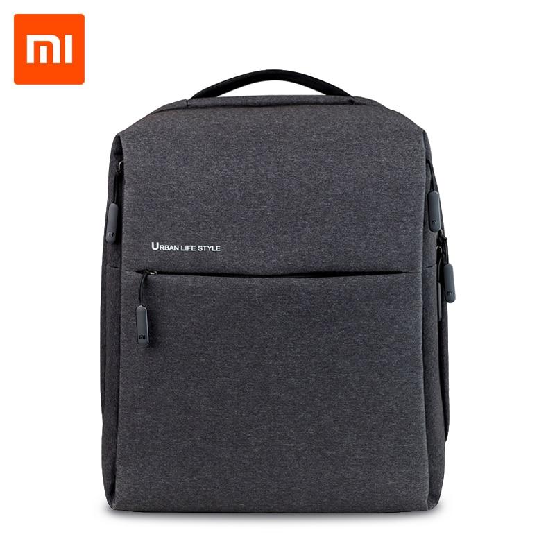 Xiaomi mijia mochila portátil estilo de vida urbana ombros mochila mochila daypack escola mochila se encaixa 14 polegada portátil