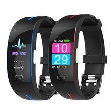 H66 Pl Bloeddruk Smart Band Hartslagmeter Ppg Ecg Smart Armband P3 Plus Activiteit Fitness Tracker Intelligente Polsband