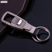 Haute qualité porte-clés Top affaires porte-clés hommes taille suspendus femmes voiture porte-clés meilleur cadeau porte-clés avec boîte