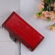 Snake Pattern Womens Fashion PU Wristlet Wallet Fashion Leisure Hand Wallet With Card Holder Long Wristlet Wallet