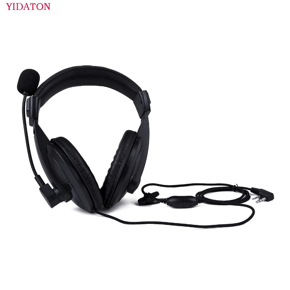 Auricular resistente de Radio con doble orejera Para Kenwood TK-3107 BAOFENG UV-5R,...