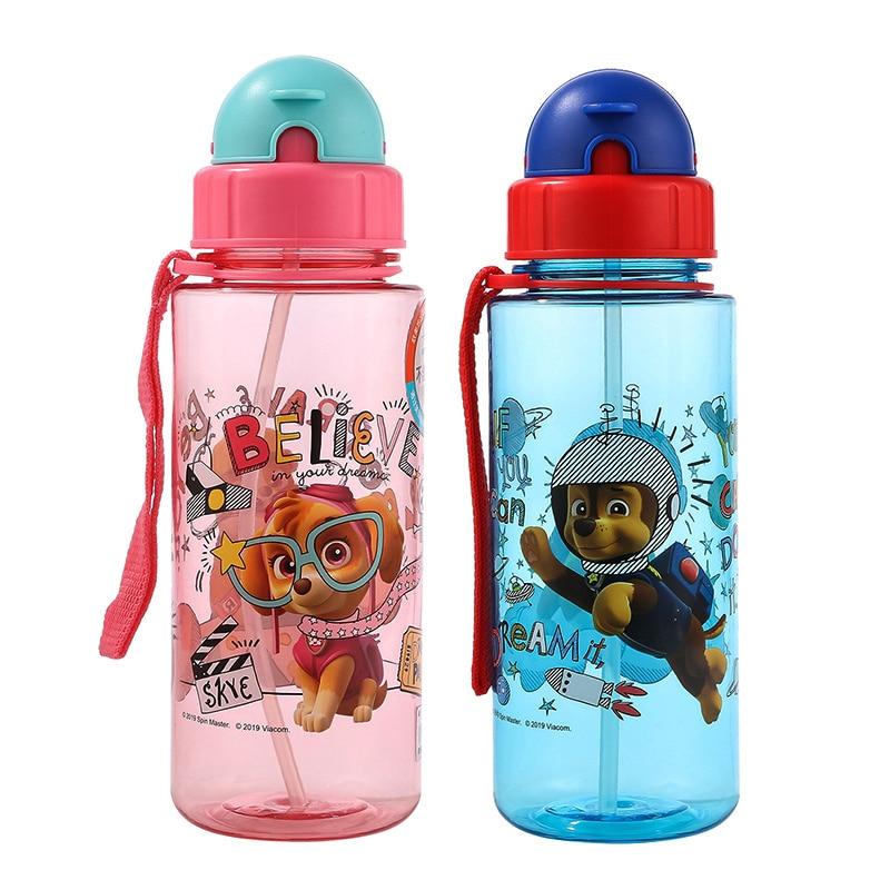 Бутылка для воды «Щенячий патруль», 500 мл, настоящая портативная бутылка для воды в стиле аниме «Щенячий патруль», Детская школьная бутылка ...