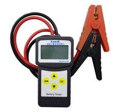 LANCOL MICRO 200 цифровой 12 В CCA Тестер нагрузки на батарею для автомобиля анализатор заряда батареи с функцией печати автомобиля Bad Cells Diaglostic