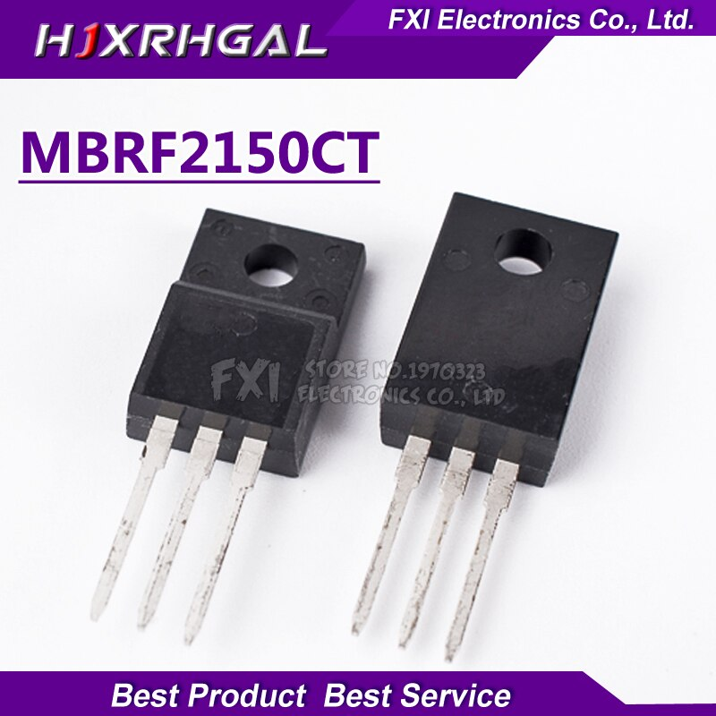 10 Uds MBRF20150CT 20150CT MBRF20150 Schottky rectificadores y 20 Amp 150 voltios Dual TO-220F nuevo original