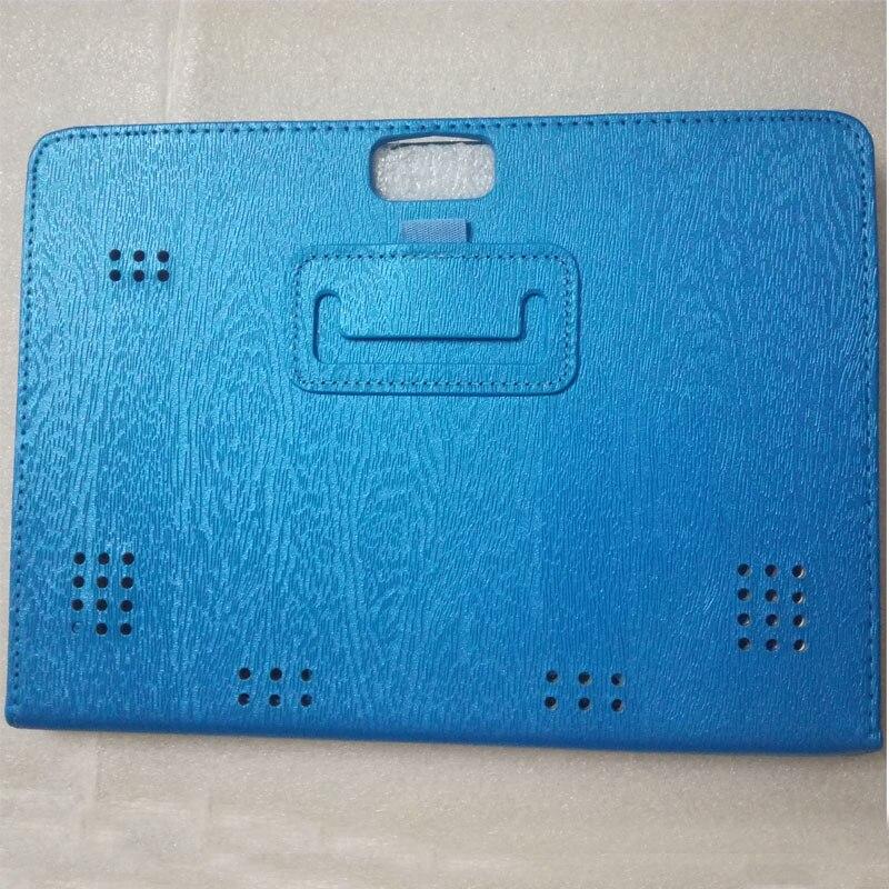 Myslc PU Couro Capa para BQ Aquaris M10 Ubuntu Edição 10.1 polegada Tablet Folio Stand Case