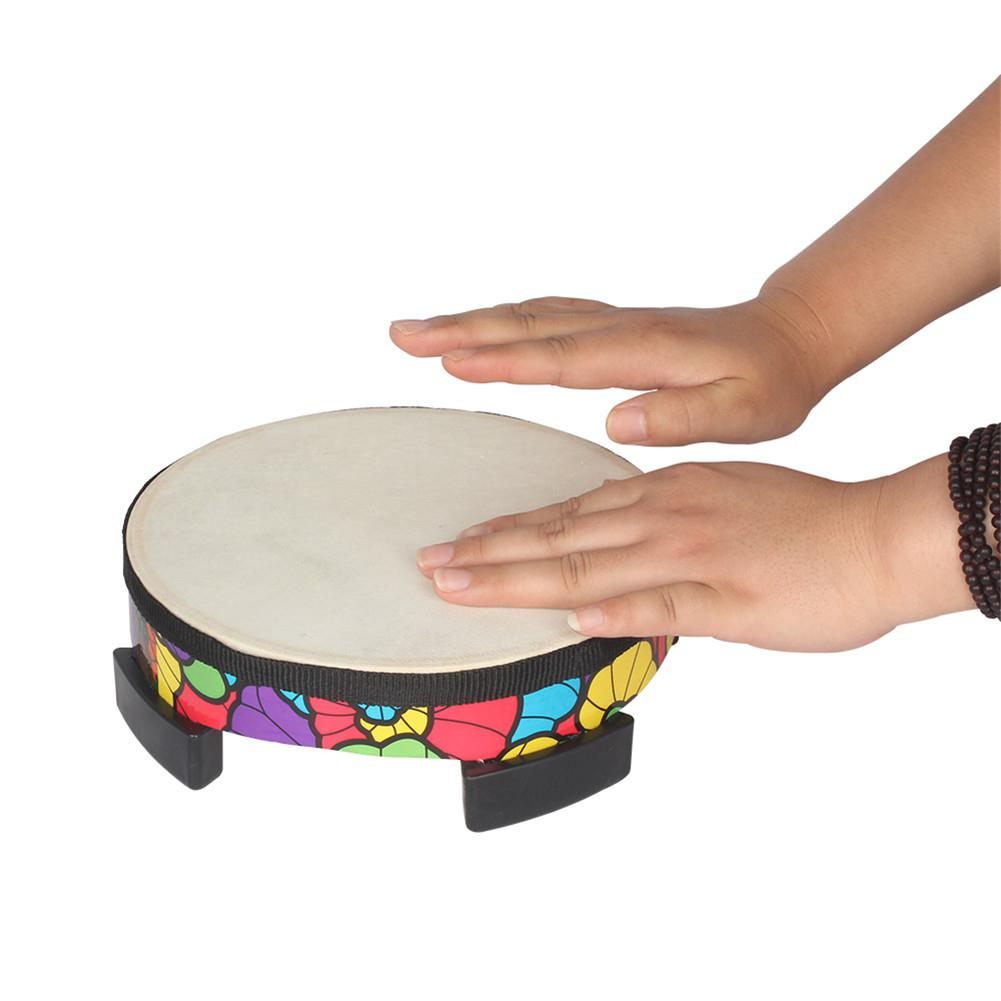 Tambor de mano de madera, aplicación de suelo, tambores, juego, almohadillas de práctica, instrumento Musical de percusión, juguetes para niños